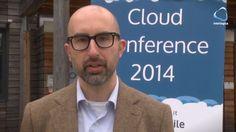 Enrico Zimuel alla Cloud Conf 2014.