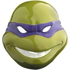 Donatello Vacuform Mask Adult Halloween Accessory