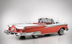 1959 Ford Galaxie Skyliner Retractable Hardtop rear side - Car Pictures