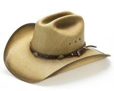 Compra este sombrero vaquero para hombre y mujer de Dallas Hats en color  marrón arena y con copa acanalada b4bc3bb7126