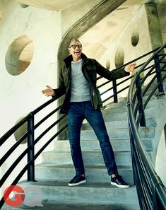 One of the coolest guys we met Mr Jeff Goldblum. Great shoot from GQ magazine September 2014. shopwittmore.com/