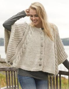 Knitted DROPS poncho with cables and textured pattern in Nepal and Kid-Silk. Free knitting pattern by DROPS Design. Loom Knitting, Knitting Patterns Free, Knit Patterns, Free Knitting, Free Pattern, Crochet Poncho, Knitted Poncho, Knitted Shawls, Warm Dresses