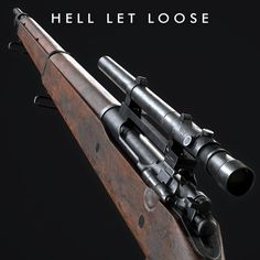M1903A4 Springfield, Stefan Engdahl on ArtStation at https://www.artstation.com/artwork/ae3yk