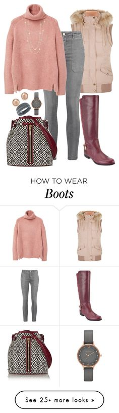 """""""Untitled #1376"""" by beng-gallo on Polyvore featuring Isaac Mizrahi, Current/Elliott, MANGO, Elizabeth and James, Talbots, Bloomingdale's, Skagen, Swarovski, women's clothing and women"""