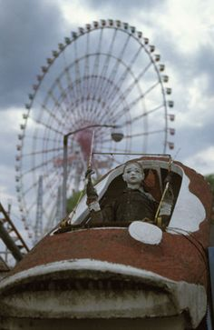 These Pictures of Abandoned Theme Parks Will Make the Child Inside You Cry