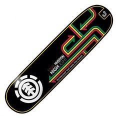 "Board Element Step Up Nyjah Huston Highlight 7.75"" 75€ #element #elementskate…"