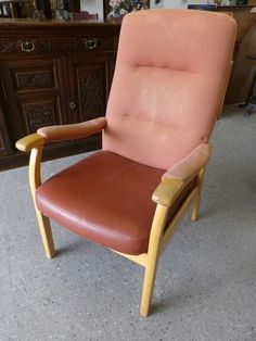 Parker Knoll Armchair - Two Available In The RGF Showroom --- Slight Damage On Arms Of Chairs But Overall Good Condition £10 Each (PC801)