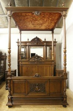 Vintage Bedroom Furniture Fascinating 18Th Century Antique Reproduction Beds Tudor Bed  Paisley Stuff Design Ideas