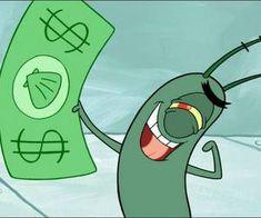 Image about plankton in Spongebob by Mercedes Drawing Cartoon Characters, Cartoon Painting, Character Drawing, Cartoon Profile Pics, Cartoon Pics, Girl Cartoon, Cute Canvas Paintings, Mini Canvas Art, Cartoon Wallpaper Iphone