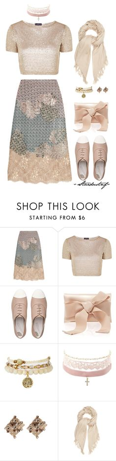 """""""Gold and.....Pink"""" by stardustnf ❤ liked on Polyvore featuring Biyan, Topshop, FitFlop, Oscar de la Renta, Charlotte Russe, Lanvin, Isabel Marant, gold, Pink and clutchcrush"""