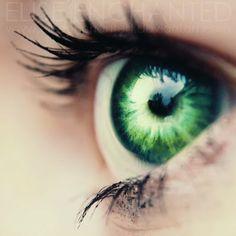 green, eye