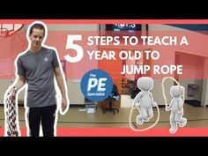 How to to Teach a 5 Year Old to Jump Rope (Kindergarten PE Lesson) Jump Rope Songs, Kids Jump Rope, Jump Rope Games, Jump Rope Workout, Kindergarten Lesson Plans, Homeschool Kindergarten, Homeschooling, Preschool, Cardio Drumming