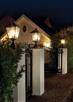 Classic outdoor lights by Norlys