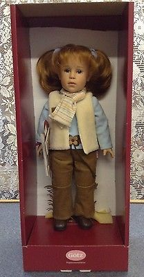 Gotz Collection 2003 Handcraft Doll Lucienne Germany New Never Removed from Box | eBay