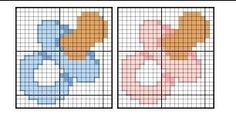 Small Cross Stitch, Cross Stitch Baby, Cross Stitch Charts, Cross Stitching, Cross Stitch Embroidery, Hand Embroidery Patterns, Baby Kind, Baby Disney, Chain Stitch