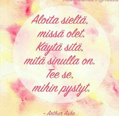 Armollisuus itsään kohtaan *♡* Mitä se on? Finnish Words, Boho Beautiful, Mood Quotes, Positive Vibes, Inspirational Quotes, Positivity, Motivation, Sayings, Books