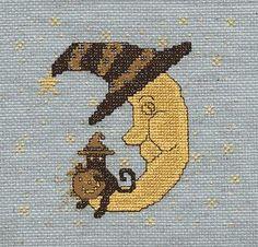 <p> Pumpkin Pals free cross stitch design</p>