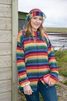 405681ee9a Orkney Knitwear - Rainbow Design