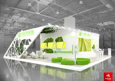 Exhibition stand for SBERBANK on Behance