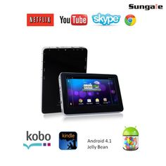 I found this amazing Sungale Google Android 4.1 1.2GHz 4GB 4.3' Tablet PC at nomorerack.com for 62% off. Sign up now and receive 10 dollars off your first purchase