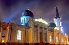 Spaso-Preobrazhenskiy cathedral in Odessa by IGOR KORENETS. #Odessa #Ukraine #cathedral #architecture #monument #art