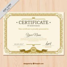 Free Certificate Of Achievement Free Customizable Certificate Of Achievement, Free Certificate Of Achievement, Free Printable Certificates Of Achievement, Certificate Of Recognition Template, Certificate Layout, Certificate Background, Certificate Border, Free Printable Certificates, Certificate Design Template, Templates Printable Free, Resume Template Examples, Certificate Of Achievement