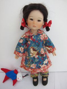 Sewing pattern for 8 BJDs by jenwrenne on Etsy