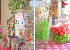 Fun wedding idea for dessert or take-home bags : )