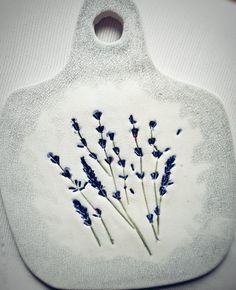 Сервировочная доска Лаванда Cheese board Lavender