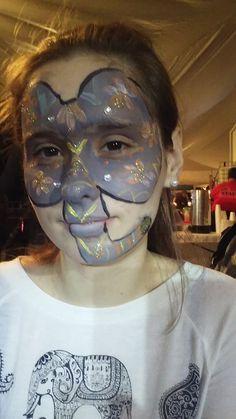 #elephantfacepaint #paintedelephantfacepaint #zoofacepaint #candycanefestivalfacepaint #funfacesballooncreationsfacepaint