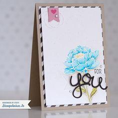 Stampin' Up! - Geburtstagskarte - Grußkarte - Aquarell - Watercolor - Alles wird gut  ❤ Stempelwiese