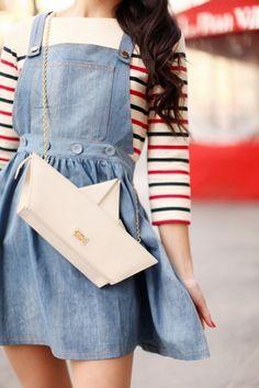 The Cherry Blossom Girl - Sac Moschino Cheap & Chic Hilfiger Denim, Charlotte Olympia, Sac Moschino, Mode Style, Style Me, Mode Shoes, Fashion Bags, Womens Fashion, Quirky Fashion