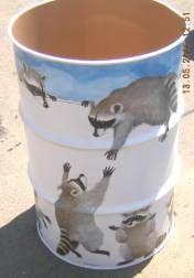 Painted Trash Can by krbexdir, via Flickr