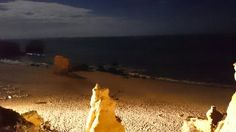 Playa De noche de San rafael