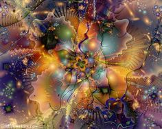 Combustible Pearls - Alice Kelley's Fractal Gallery