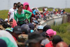 Inmigrantes pasando por Juchitan,Mex. 2013