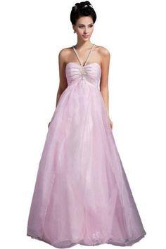 Elegant Floor-length Halter Princess Beaded Tulle Satin Wedding Dress Custom-made (UK26, Custom-made) Lemandy http://www.amazon.co.uk/dp/B00GH2NN9K/ref=cm_sw_r_pi_dp_rCkiwb00QXGFK