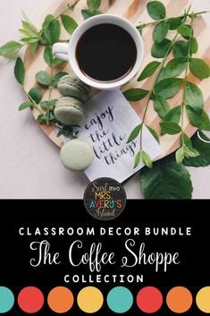 When it comes to classroom decorations, there are a LATTE options for teachers to choose from.  This coffee themed bundle is FULL of back to school essentials for teachers to print and personalize their classroom!  Click here to check out this brand new bundle of classroom decor and see how you can easily have the cutest classroom on your campus! #classroomdecor #classroommanagement #backtoschool #coffee #classroom #organization #mrsaverysisland