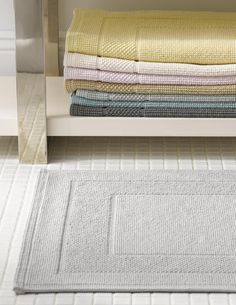 The best quality bath mat I could find that will Monogram - Luxury Bath Towels |Cotton Bath Rugs