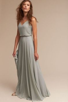 Morning Mist Inesse Dress | BHLDN