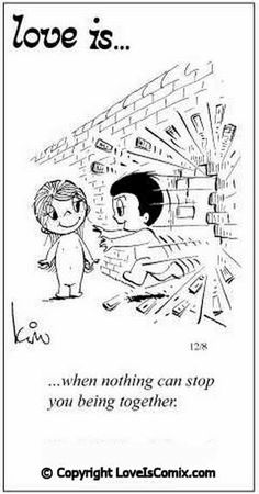 Love is. - Love is. Love Is Comic, Love Is Cartoon, What Is Love, Love You, My Love, Love Is When, Love My Husband, Romantic Love Quotes, Romantic Ideas