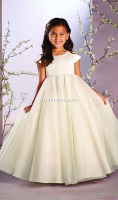 http://www.ikmdresses.com/2016-A-Line-Cap-Sleeve-Tulle-Flower-Girl-Dress-with-Jeweled-Neckline-p92395