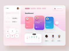 Invoice dashboard / Debut 🙌 by Hxgon on Dribbble Intranet Design, App Ui Design, Dashboard Design, Web Design Trends, User Interface Design, Design Web, Design Layouts, Dashboard Interface, Graphic Design