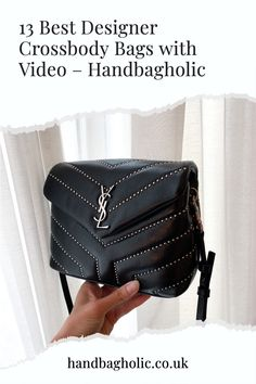 Discover the best designer crossbody bags from YSL to Chanel and Louis Vuitton complete with video on Handbagholic. #YSLBag #DesignerBag #YSLLouLouToy #YSLLouLou Best Crossbody Bags, Designer Crossbody Bags, Ysl Bag, Chanel Boy Bag, Louis Vuitton Odeon, Soho Disco Bag, Saint Laurent Handbags, Lv Pochette
