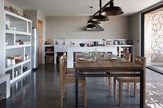 Cuisine ouverte pour un intérieur moderne