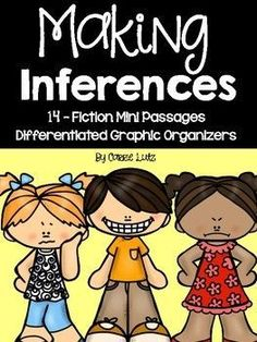 Inferring..... Isn't it a hard skill to assess??? Especially for first grade. Most texts on first grade level do not lend themselves well to making inferences.My team and I were having a really hard time finding material that would assess how well our students were mastering making inferences.