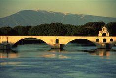 The Pont Benezet in Avignon