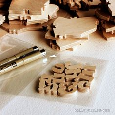 A WOOD Puzzle Wedding Guest Book Alternative