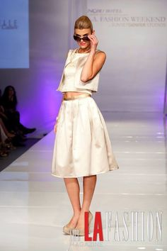 Nathanaelle Couture on the Runway at LA Fashion Week, Sunset Gower Studios. To Place your orders please visit us at www.nathanaelle.com La Fashion Week, Midi Skirt, Studios, Runway, Couture, Sunset, Skirts, Cat Walk, Sunsets