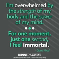 For a Second, We Feel Immortal | Runner's World
